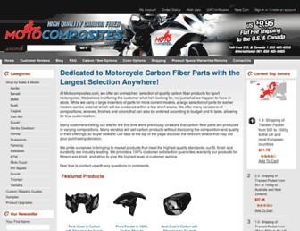 motocomposites.com screenshot