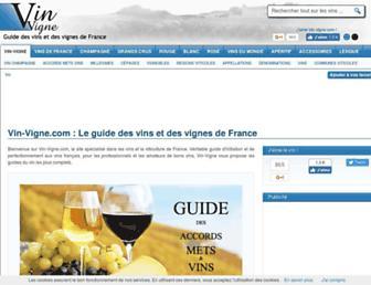 Thumbshot of Vin-vigne.com