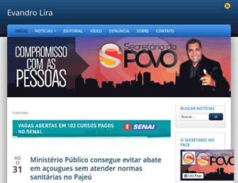 osecretariodopovo.com.br screenshot