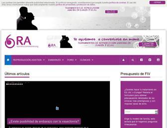 reproduccionasistida.org screenshot