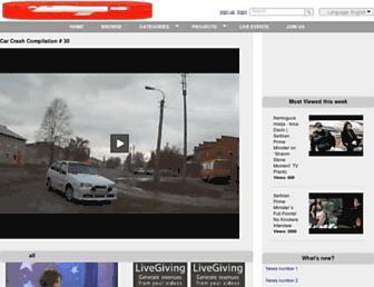 fvideos.livetourism.tv screenshot