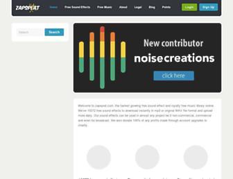 zapsplat.com screenshot