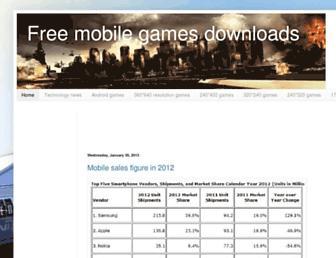 mobilesdownloads.blogspot.com screenshot