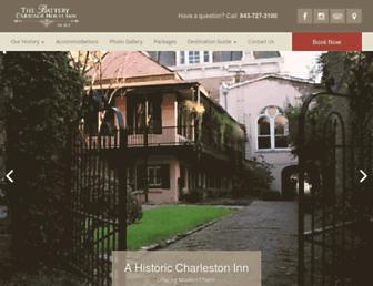 batterycarriagehouse.com screenshot
