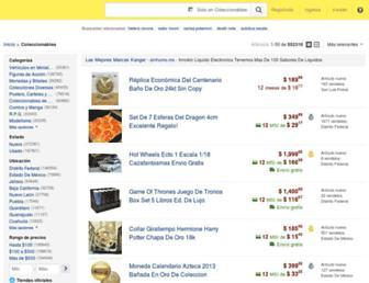 coleccionables.mercadolibre.com.mx screenshot