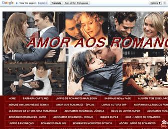 amoraosromances.blogspot.com screenshot