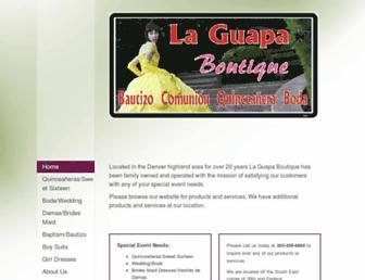laguapaboutique.com screenshot