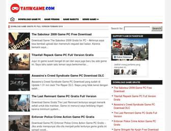 tasikgame.com screenshot