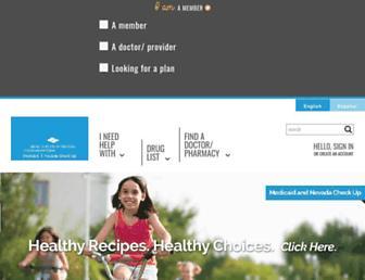 hpnmedicaidnvcheckup.com screenshot