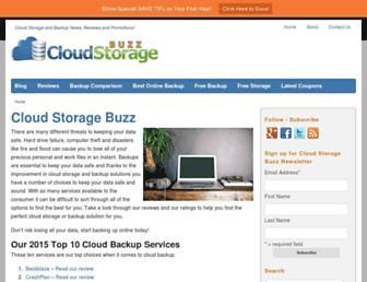 cloudstoragebuzz.com screenshot
