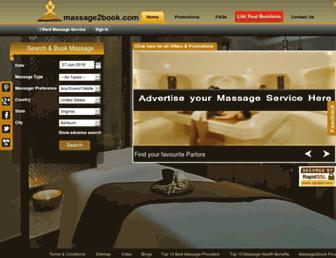massage2book.com screenshot