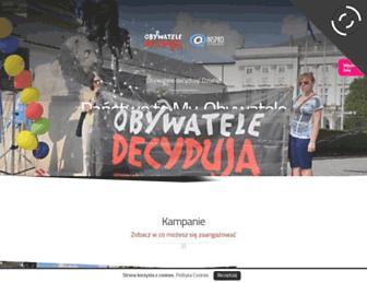 Thumbshot of Obywateledecyduja.pl