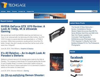 techgage.com screenshot