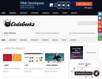 codegeekz.com screenshot