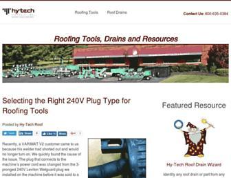blog.hy-techroof.com screenshot