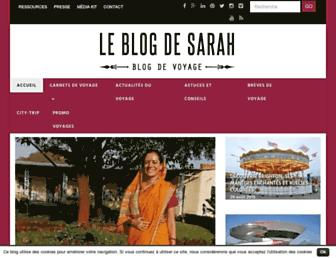 leblogdesarah.com screenshot