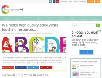 earlylearninghq.org.uk screenshot