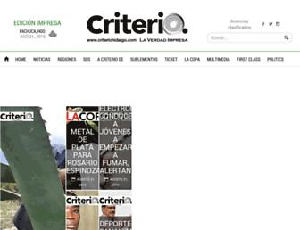 criteriohidalgo.com screenshot