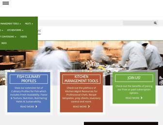 chefs-resources.com screenshot