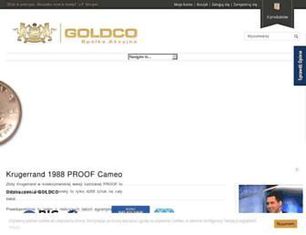 Thumbshot of Goldco.pl