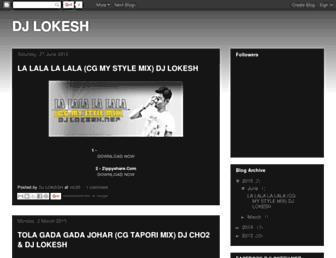 dj-lokesh.blogspot.com screenshot