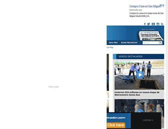 elsalvador.com screenshot