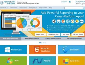 perpetuumsoft.com screenshot