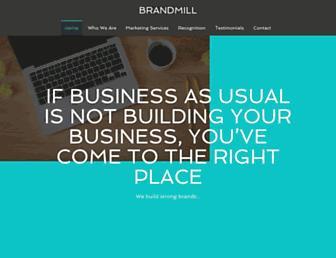 brandmill.com screenshot
