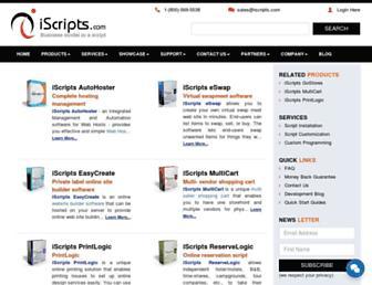 Thumbshot of Iscripts.com