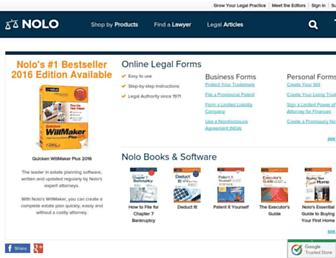 Thumbshot of Nolo.com