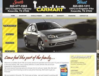 carmartsouth.com screenshot