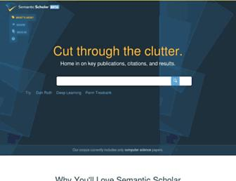 semanticscholar.org screenshot