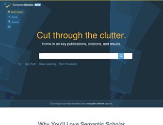 semanticscholar.org screenshot