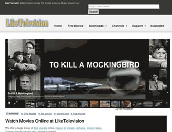 Thumbshot of Liketelevision.com