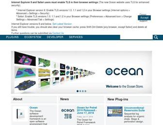 ocean.slb.com screenshot