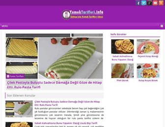 Thumbshot of Yemektarifleri.info