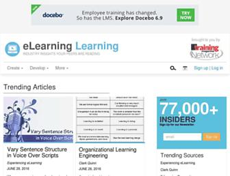 Thumbshot of Elearninglearning.com