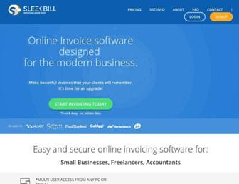 sleekbill.in screenshot