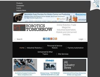 roboticstomorrow.com screenshot