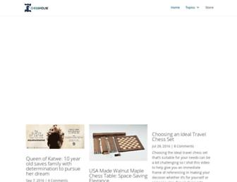 blog.chesshouse.com screenshot