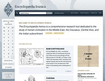 Thumbshot of Iranicaonline.org