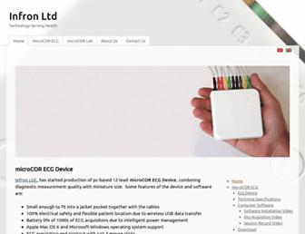 infron.com.tr screenshot