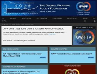 Thumbshot of Thegwpf.org