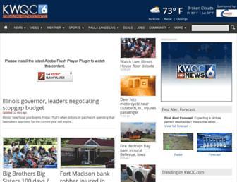 Thumbshot of Kwqc.com