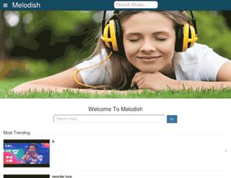 melodish.com screenshot
