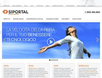 Thumbshot of Siportal.it