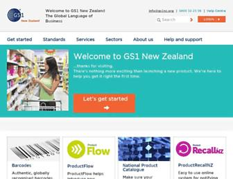 gs1nz.org screenshot