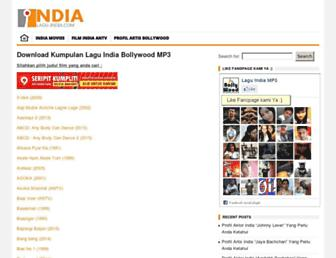 lagu-india.com screenshot