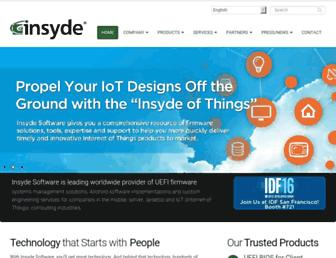 insyde.com screenshot