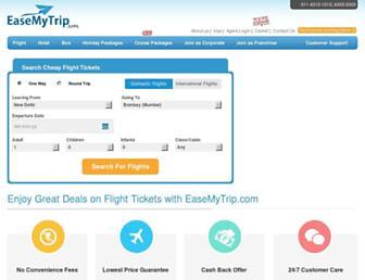 Thumbshot of Easemytrip.com